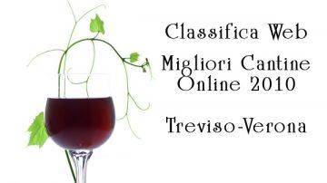 Prima Classifica delle Cantine Trevigiane e Veronesi online
