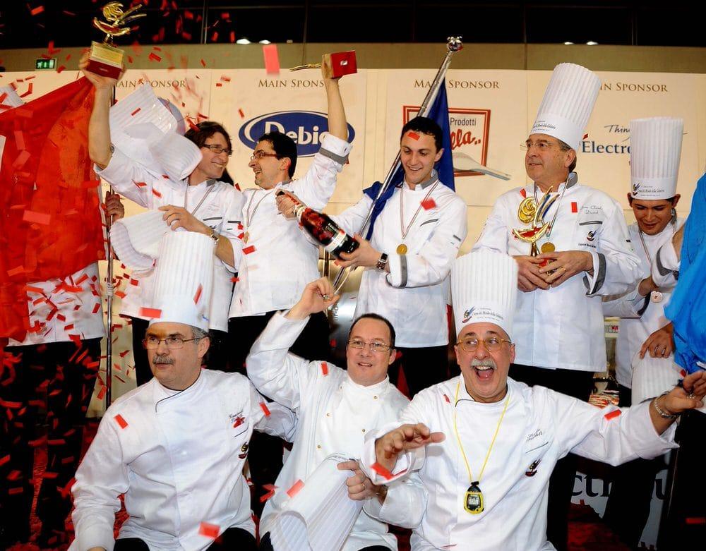 Al Sigep di Rimini Fiera la Francia ha vinto la coppa del mondo della gelateria