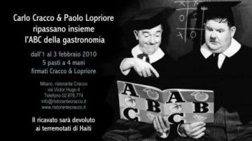 Cracco&Lopriore ripasseranno l'ABC della gastronomia