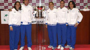 """""""Parmigiano-Reggiano Italian Team"""": le azzurre del tennis con il re dei formaggi"""