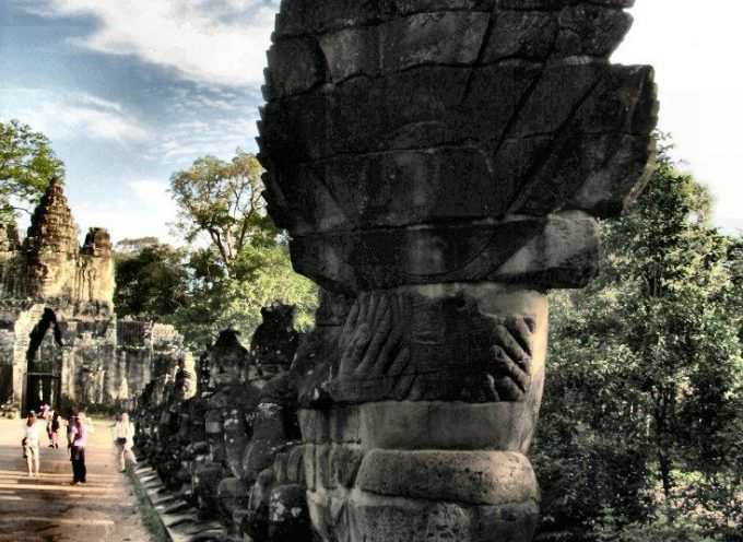 Cambodia: The Southern gate of Angkor Thom