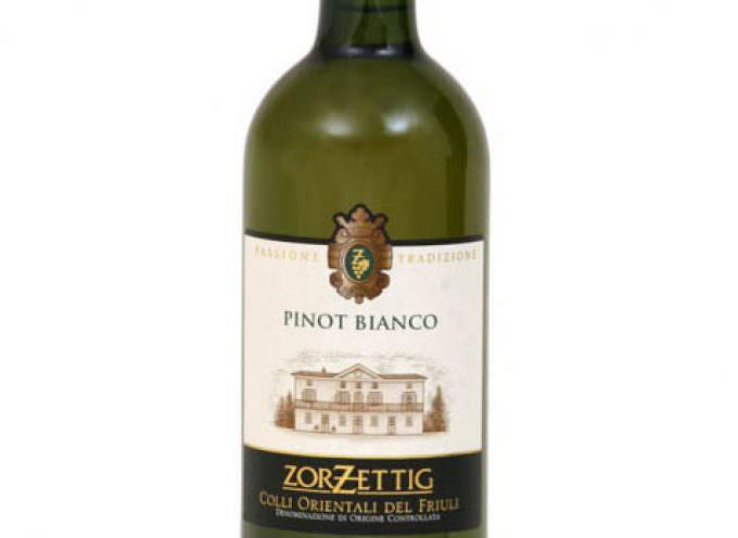 Il Pinot Bianco COF 2008 Zorzettig promosso a pieni voti