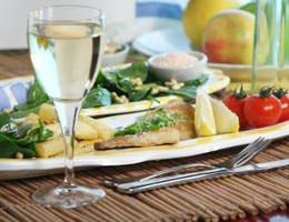 Pesce più vino uguale cuore sano