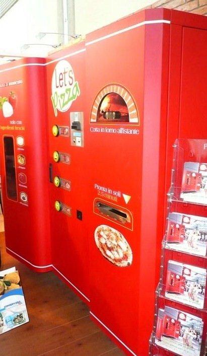 Ecco Let's Pizza, distributore automatico di pizza