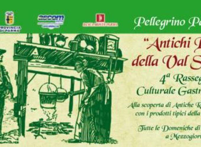 """Pellegrino Parmense inviata a gustare gli """"Antichi piatti della Val Stirone"""""""
