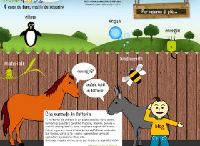 A Roma parte Rural4kids, un progetto che mira a far scoprire ai bambini il mondo rurale