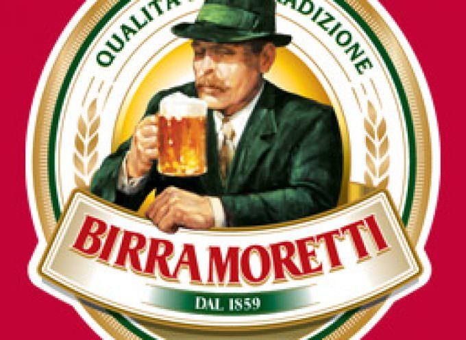 Fresca di stampa la carta degli abbinamenti delle birre di Birra Moretti