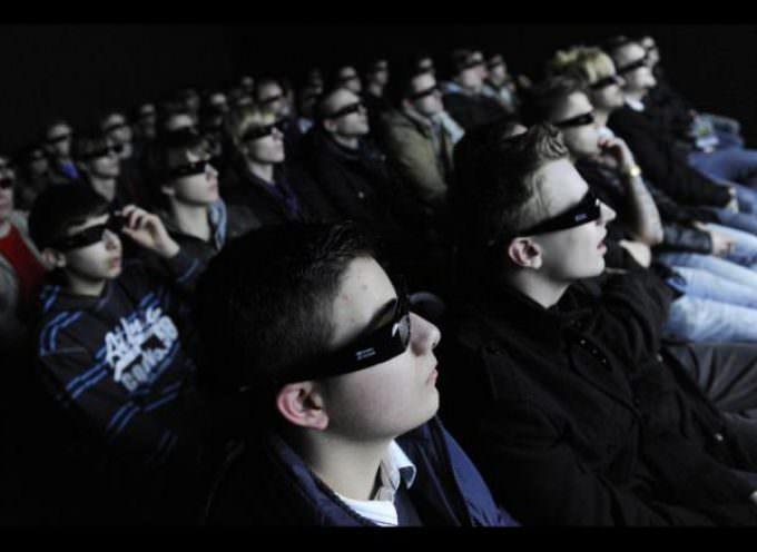 Occhiali 3D: Monitoraggio nei cinema italiani