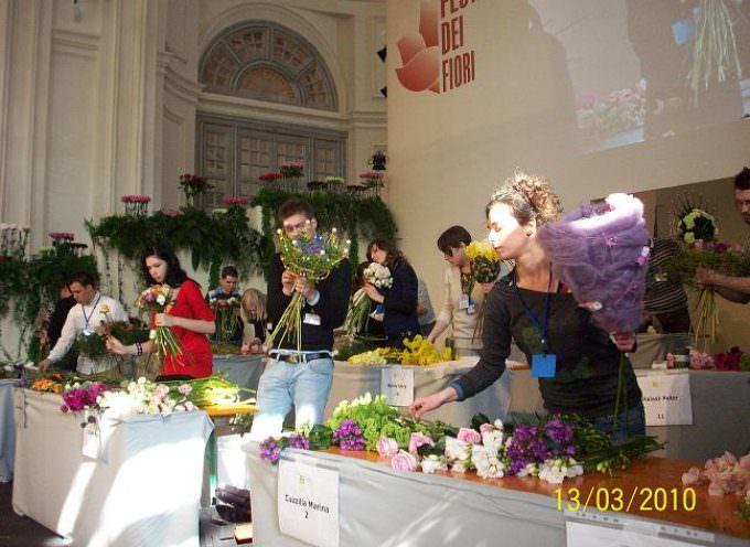Il Festival dei Fiori 2010 da Sanremo alla sontuosa Reggia di Venaria Reale