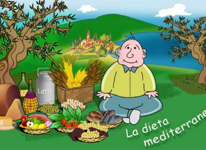 Dieta mediterranea, meno pericolo per il cuore