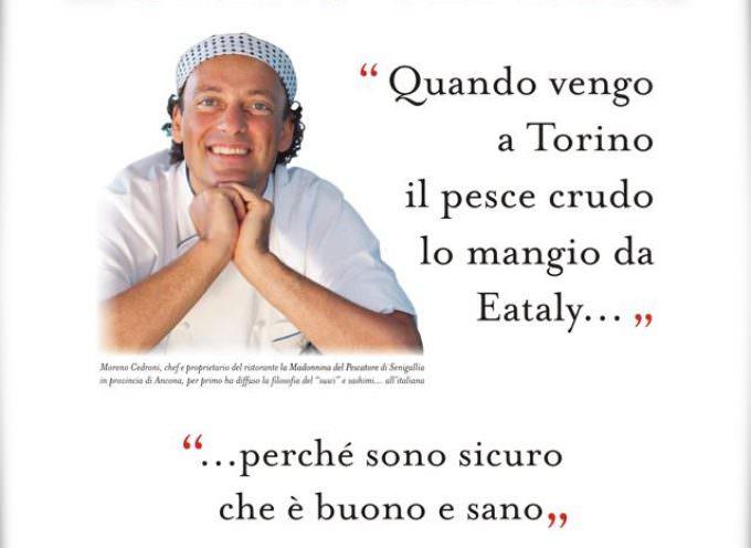Eataly su La Stampa risponde con Moreno Cedroni alla ASL di Torino per il pesce all'anisakis