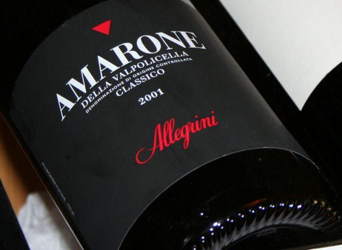 A come Amarone. A come Allegrini, come amare. One come Unico