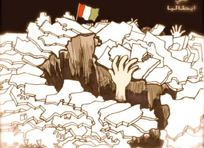 Attilio Scotti dipinge una cartolina dell'Italia di oggi
