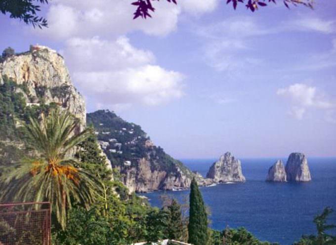Ecco 'O sole 'e Capri: dalla pasta più grande del mondo un omaggio all'isola azzurra