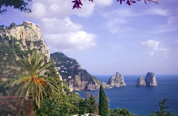 Capri. Estate di turismo con il Franciacorta