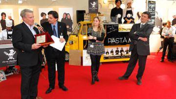 E' stato assegnato il 26 aprile 2010 a Bologna il prestigioso PREMIO INTERNAZIONALE ENOGA'