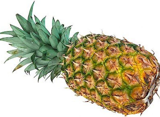 Involtini di pancetta e ananas