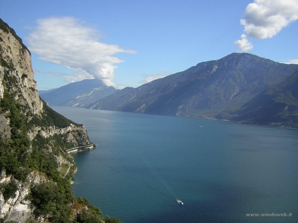 Maltempo: Coldiretti, lago Garda max storico, Po +1,5 metri/giorno