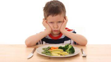 I bambini amano le verdure quando servite ad inizio pasto