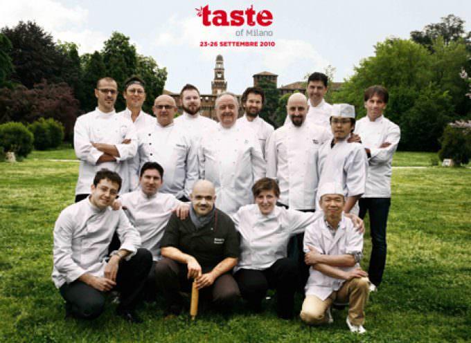Per la prima volta in Italia Taste of Milano
