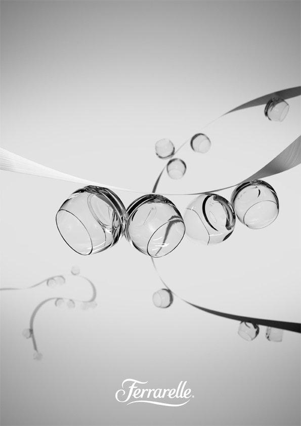 Il bicchiere Effe di Ferrarelle