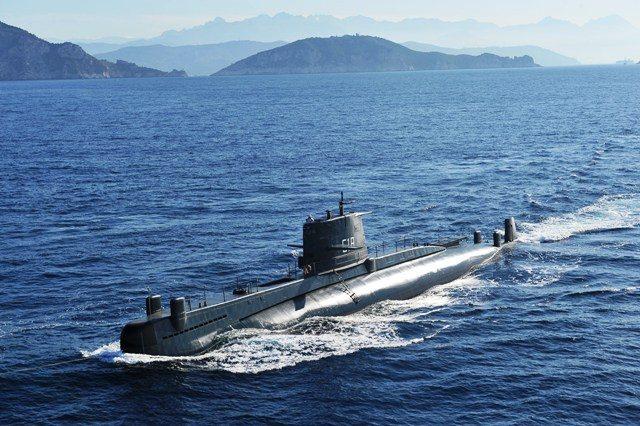 Genova, Museo del Mare: il mitico sottomarino 518 Nazario Saurio