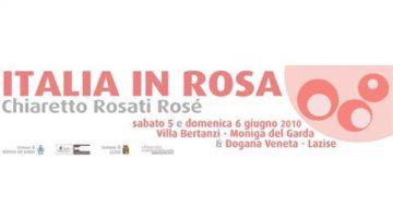Un'edizione da record per Italia in Rosa: il 5 e il 6 giugno a Moniga del Garda e Lazise, sul lago di Garda, patria del Chiaretto