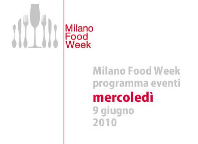 Milano Food Week: eventi in programma mercoledì 9 giugno