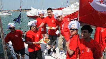Tripla vittoria per l'equipaggio di Hong Kong