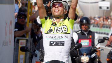 Neri Sottoli campione d'Italia del ciclismo professionisti