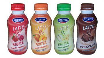 """Nasce il nuovo drink """"Latte & Frutta"""" di Stuffer®"""