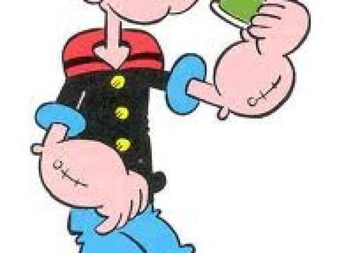 Effetto Popeye: con Braccio di Ferro, i bambini mangiano più verdure