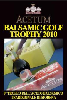 Terminata la prima fase dell'Acetum Balsamic Golf Trophy 2010