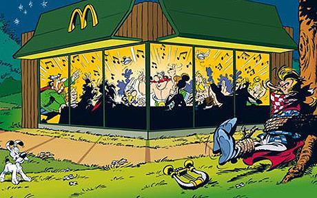 McDonald's conquista Asterix. Ed i francesi insorgono
