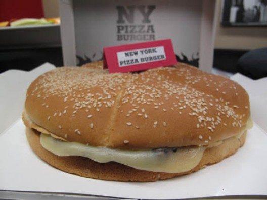 Burger King crea NY Pizza Burger: 15 centimetri e 2.520 calorie