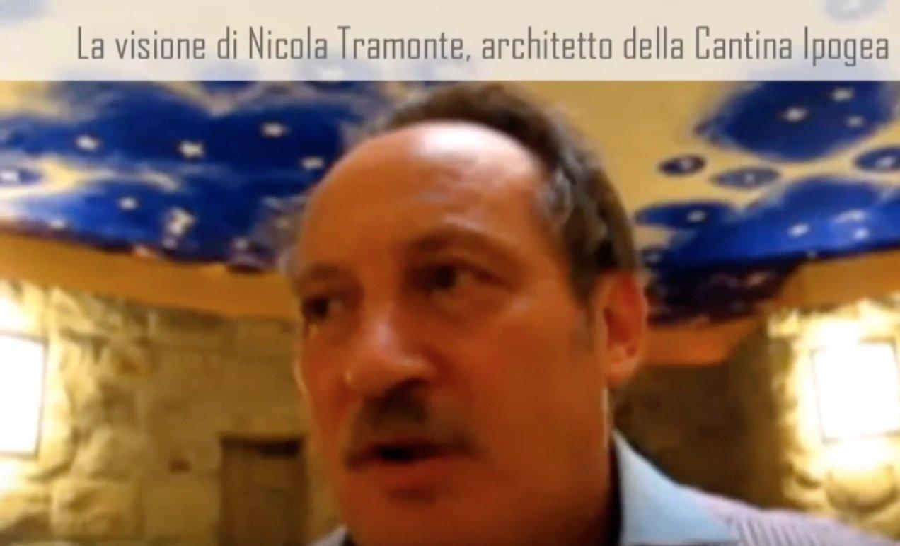 Nicola Tramonte, architetto della Cantina Ipogea di Peppe Zullo a Orsara di Puglia(Video)