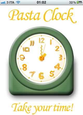 Pasta Clock ti dà tutti i tempi di cottura su iPhone, iPod e iPad