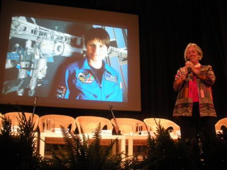 """Casato Prime Donne"" 2010: Premiata l'astronauta Samantha Cristoforetti"