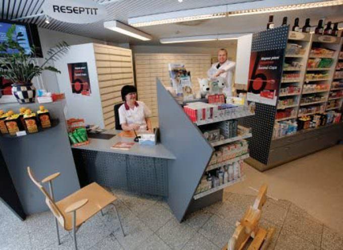 Privacy da confessionale e posta pneumatica nella farmacia finlandese