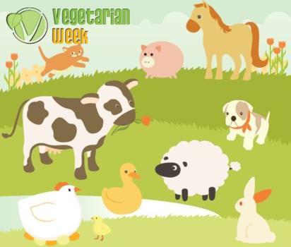 "Al via la ""Settimana Vegetariana Mondiale"""
