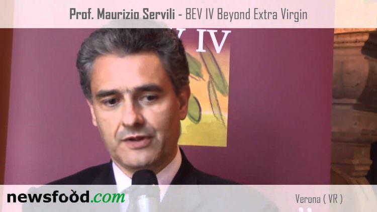 Il Prof. Maurizio Servili al Beyond Extra Virgin di Verona (Video)