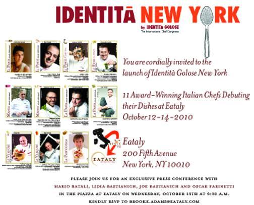 Identità Golose: Newsletter 319 di Paolo Marchi del 4 ottobre 2010