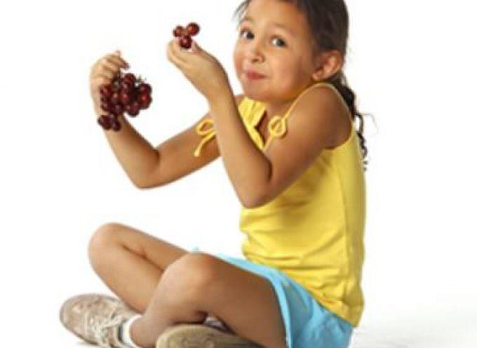 Una corretta alimentazione si impara da piccoli