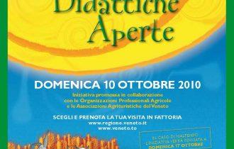 """Domenica 10 ottobre """"Fattorie didattiche aperte"""" in Veneto"""