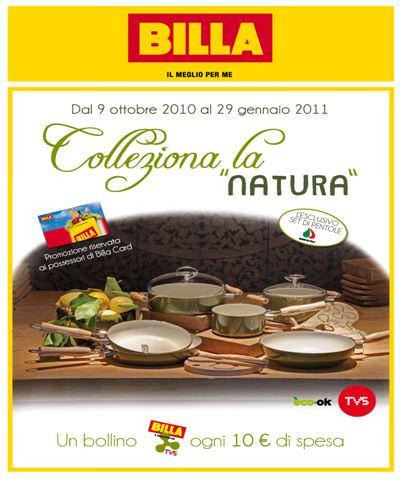 """Billa lancia """"Colleziona la Natura"""", la nuova raccolta a bollini verde"""