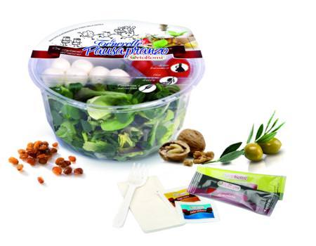 Le Tenerelle Pausa Pranzo Ortoromi: Un'insalata sfiziosa da mangiare ovunque