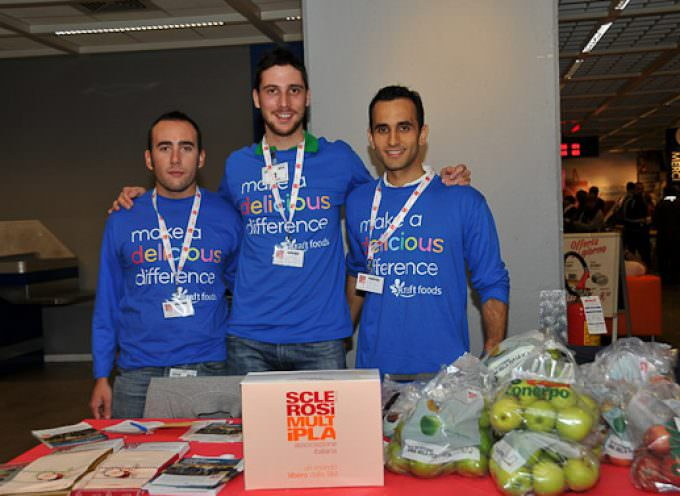 """Conclusa """"Delicious Difference Week"""", la settimana mondiale di volontariato promossa da Kraft Foods"""