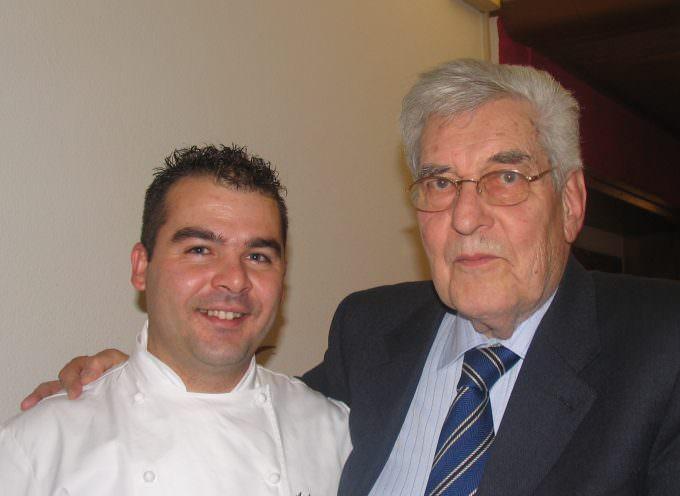 Ritorno a Faido, lo Chef Antonino Messina posa la prima pietra della Cattedrale del Gusto