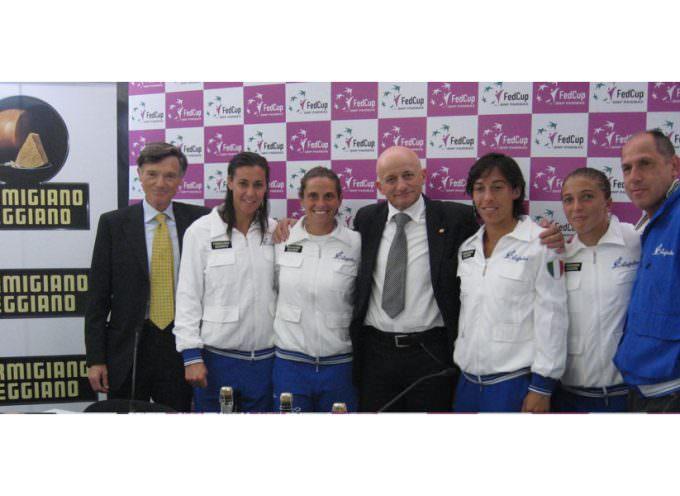Al Consorzio del Parmigiano-Reggiano si esulta: Le azzurre del tennis vincono la Federation Cup