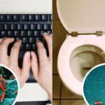 """Salute: Le tastiere del computer sono ricettacoli di germi e batteri """"nemici invisibili"""""""